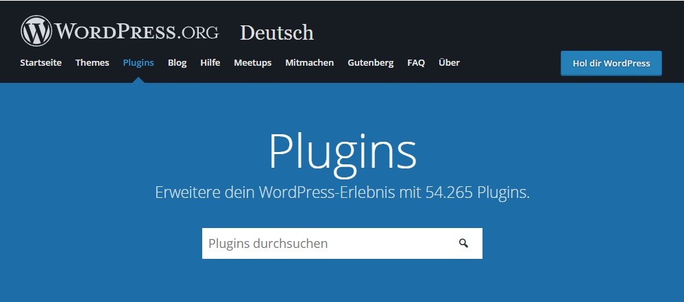 Die besten deutschen Listen zu Top WordPress Plugins